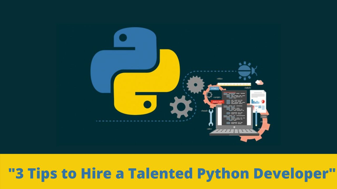 Top 3 Tips to Hire a Talented Python Developer