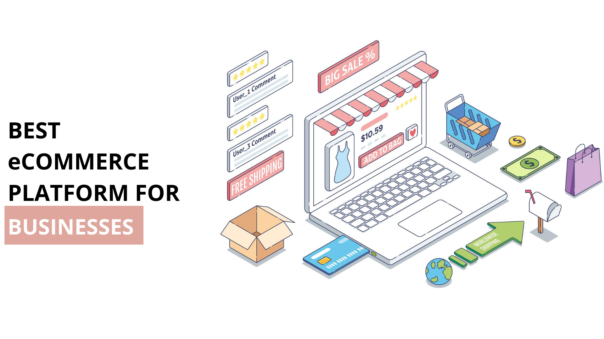 Top 5 Ecommerce  platforms 2020: Which Should You Use?